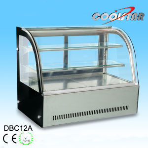 Tempered Glass Door Stainless Steel Refrigerating Showcase (A series) pictures & photos