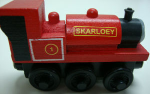 Wooden Painted Train Toy for Kids (TT-001) pictures & photos