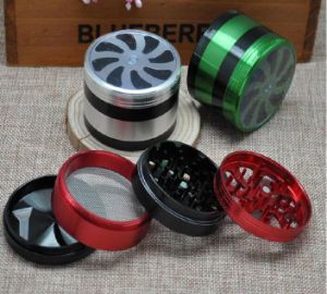 Tornado Herb Grinder, Aluminium Grinder for Tobacco pictures & photos