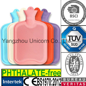 TUV Phthalate-Free SGS BS Rubber Hot Water Bottle pictures & photos