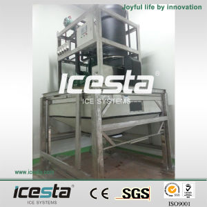 Icesta Low Price Tube Ice Making Machine for Food Processing pictures & photos