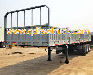 Hot sale! HTC Tri-Axle 40-80 tons Truck Trailer pictures & photos