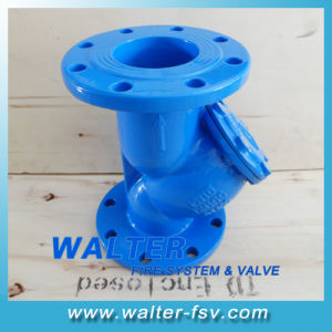 Flange Cast Iron Y Type Strainer (ANSI, BS, DIN) pictures & photos