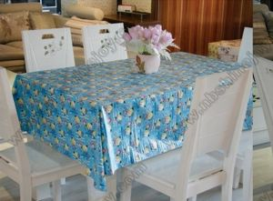 Cartoon Design Table Cloth PVC Table Cover pictures & photos