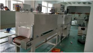 Automatic Shrink Packaging Machine for Vegetables, Fruits, Noodles pictures & photos