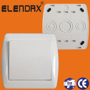 German Standard Surface Mounted One Way Switch (S8001) pictures & photos