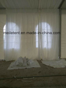Nigeria Used Wedding Marquee Tent with Glass Pagoda Entrance pictures & photos