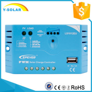 10A 12V Epever USB-5V1.2A Solar Panel Battery Charger Controller Ls1012EU pictures & photos
