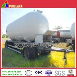 15-30cbm 2-3axle Full Drawbar Water Oil Fuel Tank Trailer pictures & photos