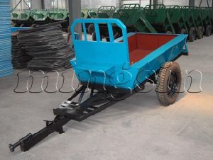 Farm Trailer for 12-20HP Walking Tractor 7c-1.5 pictures & photos