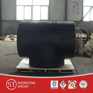 Coating Carbon Steel Pipe Fittings Tee pictures & photos