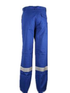 En11611 Royal Blue Flame Retardant Reflective Safety Work Pants pictures & photos