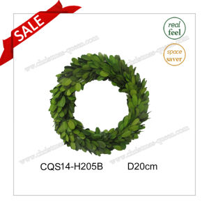 D20cm Decorative Flowers&Wreaths Type Preserved Boxwood Glass Ornaments pictures & photos