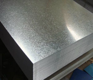 Dx51d+Z80 Zinc Coated Steel Roofing Steel (0.125mm-1.0mm) pictures & photos