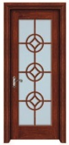 High Quality Glass Wooden Door for Kitchen Room pictures & photos
