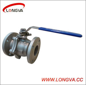 2 Piece Sanitary Flanged Ball Valve pictures & photos
