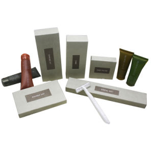 The Shilla Hotel Guest Room Amenities Set Manufacturer Hotel Supplier pictures & photos