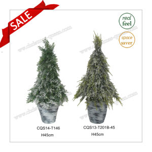 H45cm Multicolour Outdoor Plastic Decorative Pot Flower Artificial Plant pictures & photos