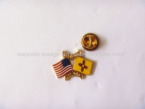 Custom Gold Plated Lapel Pin pictures & photos