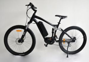 27.5 Inch Electric MID Motor Bike Bicycle with Lithium Battery pictures & photos
