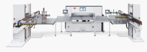 Stack Loader Machine for Paper Cutter (QZ1450) pictures & photos