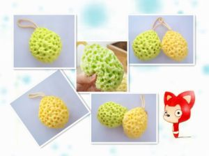 2017 New Hot Sale Bath Sponge Hydrophilic Polyurethane Sponge Bath (GW-BHS04) pictures & photos