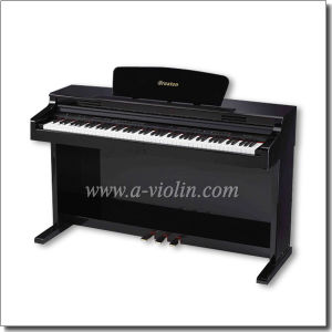Black Gloss Varnish 88 Keys Upright Dightal Piano (DP890A) pictures & photos