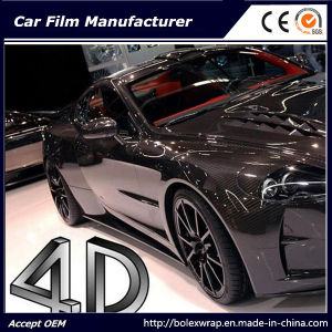 4D Carbon Fiber Vinyl Car Sticker/ Car Wrap Vinyl pictures & photos