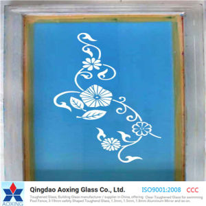 Silk Screen Printed Glass with Patterns pictures & photos