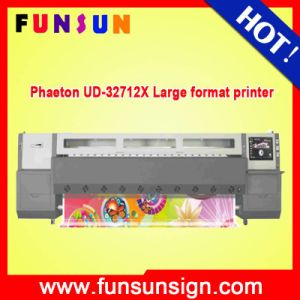 Fast Printing Speed 12 PCS Spt510/50pl Heads Phaeton Ud-32712X 3.2m/10FT Wide Format Solvent Printer pictures & photos
