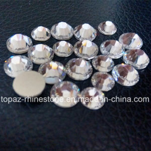 16 Facets K9 Crystals Non Hot Fix Clear Flat Back Premium Rhinestones (FB-ss16 crystal/4A grade) pictures & photos