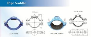 Ductile Cast Iron Saddles for UPVC Pipes pictures & photos