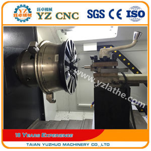 Alloy Wheel Repair Diamond Cutting CNC Lathe pictures & photos