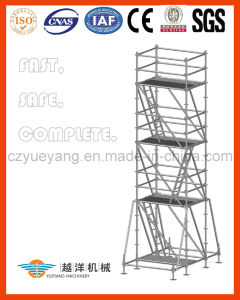 Ringlock Scaffolding Tower with Top Quality pictures & photos