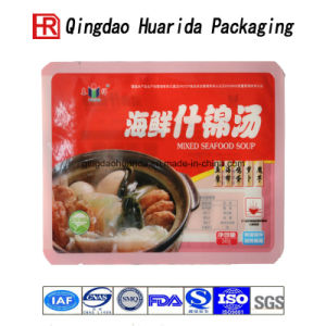 Back Sealed Plastic Packing Bag Custom Food Package Bag pictures & photos
