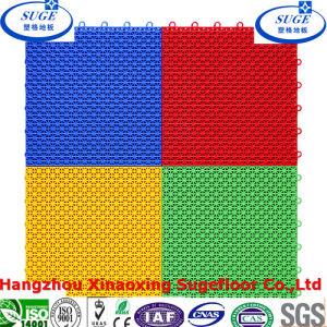 Garage Tile Flooring Cushion Interlocking Sports Flooring pictures & photos