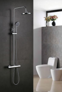 Round Shower Faucet Single Lever Shower Mixer pictures & photos