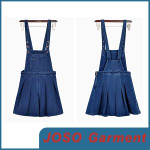 Girl Fashion Denim Overall Dress (JC2035) pictures & photos