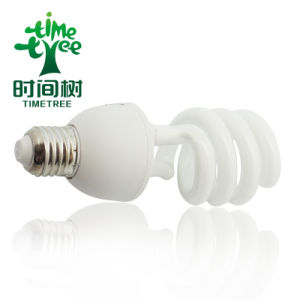 T5 75W 3kh Halo Powder Half Spiral Energy Saving Bulb (CFLHST53kh) pictures & photos