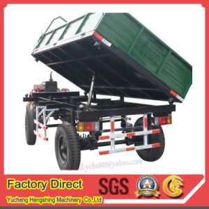 Tractor Trailed Dumping Trailer for Farm Machinery pictures & photos