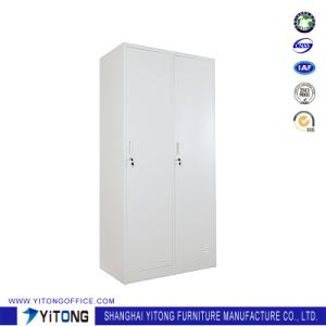 Yitong 2-Door Metal Storage Cabinet / Office Use Steel Locker pictures & photos