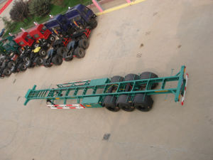 China Manufacturer of Container Transport Semi Trailer pictures & photos