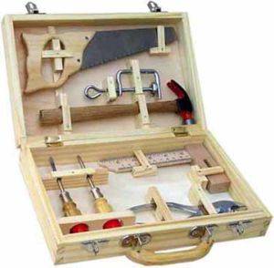 Wooden Toy Wooden Tool Box--8 PCS pictures & photos