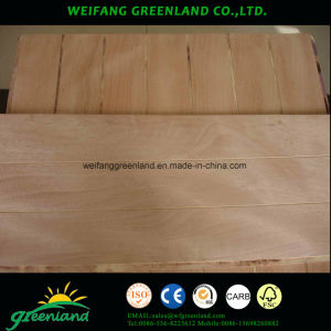 12mm Sloted Plywood, Hardwood Core, Phenolic Glue and Okume Film pictures & photos