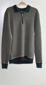 100% Wool Long Sleeve Pullover Man Sweater pictures & photos
