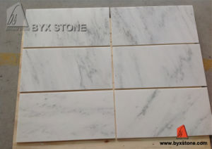 Natural Polished Galaxy White Marble Slab and Tiles for Flooring pictures & photos