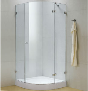 Corner Frame Less Glass Shower Room pictures & photos
