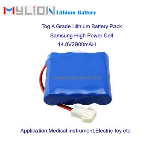 Hight Quality Lithium Battery for ECG Syringe Pump etc. 14.8V2.9ah