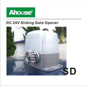 China ahouse automatic solar power sliding gate opener for Electric motor for sliding gate