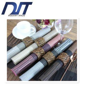 European-Style Gradient PVC Plastic Anti-Skid Table Mat pictures & photos